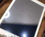 iPadにガラスコーティング